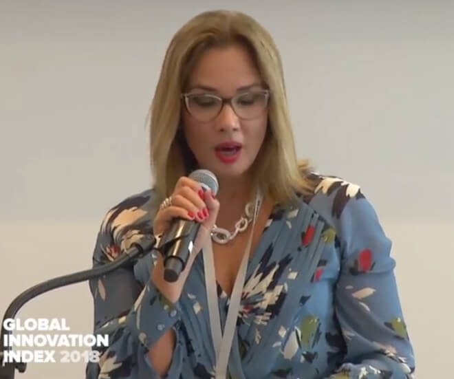 Brazil's CNI Representative Speaks on Innovation Promotion in Brazil at GII 2018 Launch Event