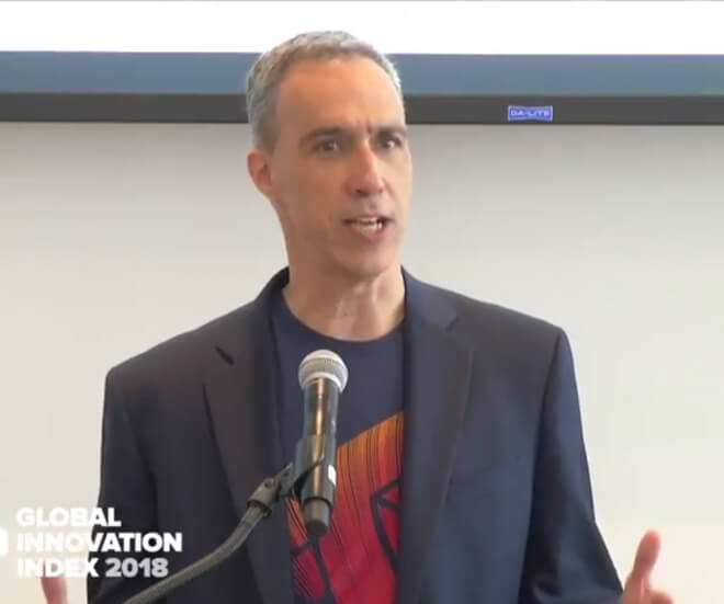 Cornell Tech Dean Speaks at Opening of GII 2018 Launch Event