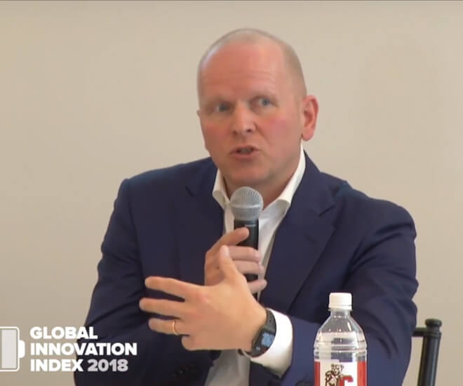 "Global Innovation Index 2018: High Level Panelists Discuss ""Energizing the world with innovation"""