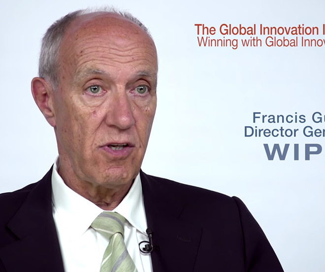 GLOBAL INNOVATION INDEX 2016 – HIGHLIGHTS FROM WIPO DG FRANCIS GURRY