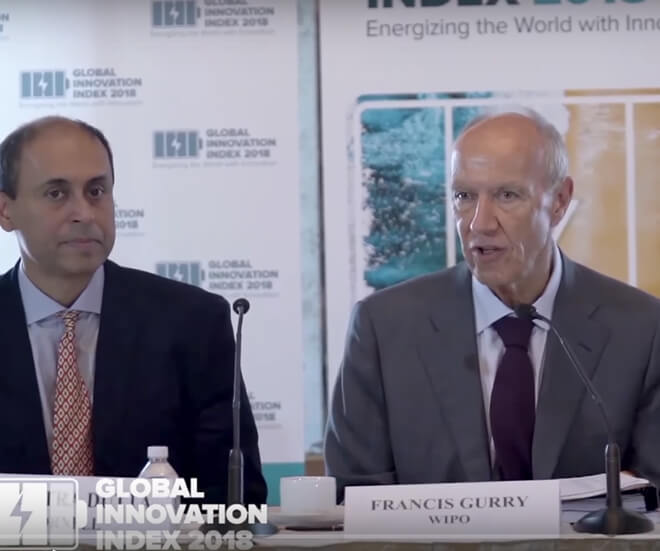 Global Innovation Index (GII) 2018 Press Conference