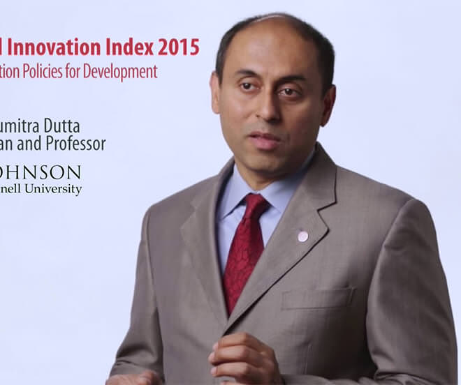 Global Innovation Index 2015 – Highlights from Co-editor Dutta