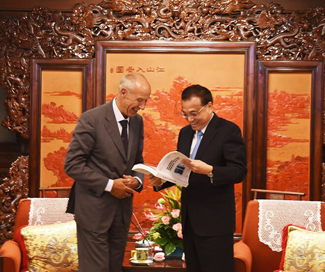 Chinese Premier meets World Intellectal Property Organization Director General