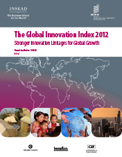the global innovation index 2011 to 2012 report