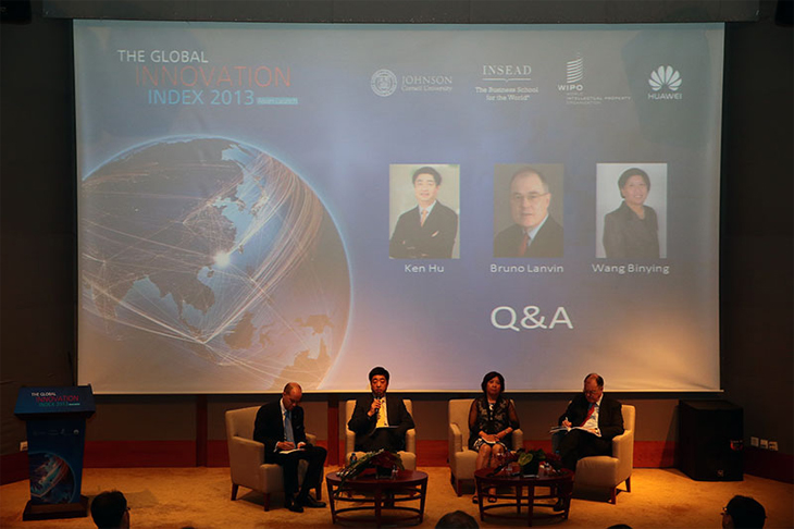 the global innovation index 2013 Q&A